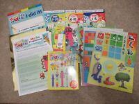 Numberblocks gift set Cbeebies Maths Programme Magazines 1-20 EYFS Home School