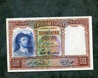 BILLETE 500 PESETAS  1931   EBC 0704322