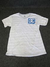 Hombre Auténtico DC Moda Informal skate bmx MX Camiseta S M L Xl Xxl Gris DC 97