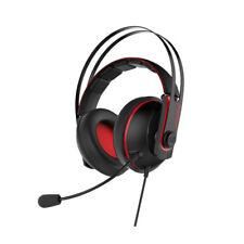 Asus Cerberus V2 Rojo Auriculares para Juegos 53mm Núcleo Drivers Pc, PS4, Xbox,