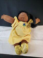Vintage Little People Soft Sculpture Doll W/ Eisman Dress
