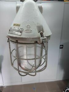 Lampe Bunkerlampe Grubenlampe Hängelampe EX Loft Industrie Design Fabrik