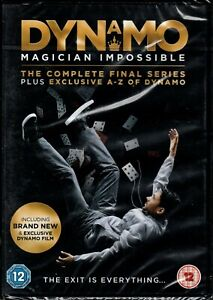 DYNAMO MAGICIAN IMPOSSIBLE Complete Series  4 + A-Z of Dynamo - DVD - NEW/Sealed