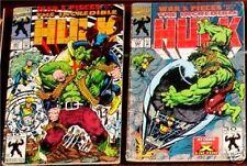 Incredible Hulk 391 Vg+/F & 392 G/Vg Rare Marvel Movie