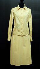 HERMES PARIS VINTAGE '70 Giacca Completo Donna Woman Tailleur Suit Sz.M - 44
