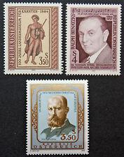AUTRICHE timbre - Yvert et Tellier n°1609 à 1611 n** stamp Austria (cyn5)