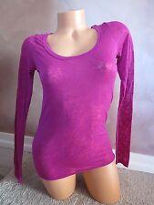 NWT Victoria's Secret PINK Sexy Longsleeve T-Shirt VS LOGO Bling SZ:XS