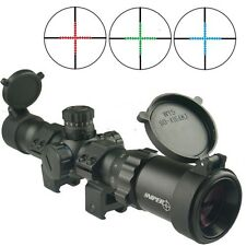 1-4x28 Long Eye Relief Scope, 30mm M Dot Reticle Scope Rings Included