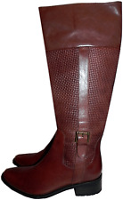 $489 Cole Haan Collection Abetta Tall Riding Boot  Flat Equestrian Shoe 11-41