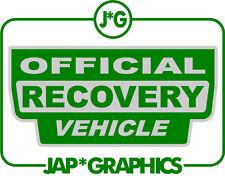 Land Rover Oficial vehículo de recuperación Verde Y Plata Sticker Decal Envío Gratis