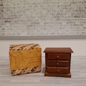Dollhouse Miniature 1:12 Vintage Wood  Concord Nightstand