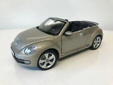 Stunning 1/18 Kyosho Volkswagen Beetle Cabriolet Light Green Collector's Model