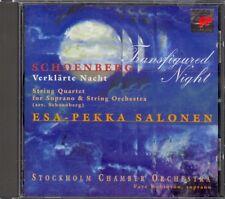SCHOENBERG - Verklarte Nacht / String Quartet 2 - Esa-Pekka SALONEN - Sony