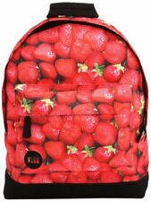 Mi-Pac Strawberries Rucksack/ Casual Daypack 17 Litres, Red (Strawberry Print)