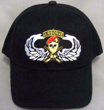 Embroidered Military Caps - Baseball Caps Airborne and Wings  (7506AB13)