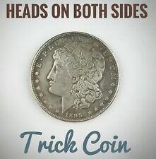 Double Sided 1895 Morgan Silver Dollar Coin Double Headed Two Face Coin