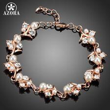 Bracelets fantaisie roses en perle