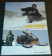 2005 SKI-DOO SNOWMOBILE CLOTHING & ACCESSORIES CATALOG NEW 110+ PAGES   (421)