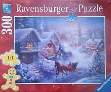 Ravensburger Christmas puzzle * 300 t * navidad * trineo viaje a través de la nieve