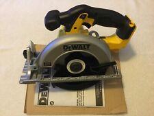 "New Dewalt DCS391B 20V 20 Volt Max 6-1/2"" Cordless Circular Saw W/ Blade"