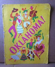 OKLAHOMA Agnes de Mille program Evelyn Wyckoff 1948 musical Richard Rodgers