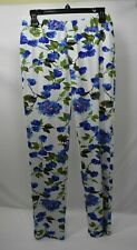 LENA GABRIELLE FLORAL PRINT PULL ON KNIT PANTS SZ 6 NEW WITH TAG