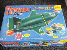 5 4 3 2 1 ORIGINAL SUPERSIZE 16 INCH THUNDERBIRD 2  & THUNDERBIRD 4 - NEW IN BOX