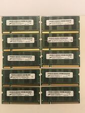 Lot of 500 Micron DDR2 2GB 2Rx8 PC2-5300S Laptop Memory All tested