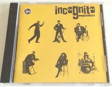 INCOGNITO POSITIVITY CD ALBUM 1993 OTTIMO JAZZ SPED GRATIS SU + ACQUISTI!!!