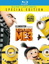 Despicable Me 3 (Blu-ray Disc ONLY, 2017)
