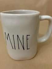 rae dunn Valentines Mine Red Mug RARE M STAMPED First Edition