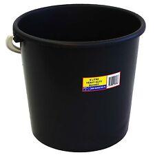 Icon Plastics Heavy Duty Plastic Bucket 9L Round, String Handle *Australian Made