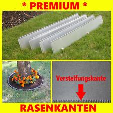 Beeteinfassung schmal 14 cm Hoch Metall  10er  Set   Mähkante Rasenkanten