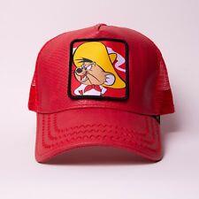 GOLD STAR - Brand New TUNES SPEEDY ALL RED TRUCKER HAT