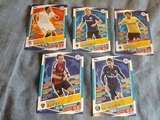 TRADING CARDS GAME MATCH ATTAX CHAMPIONS LEAGUE Lotto 5 pz diversi new
