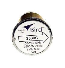 Bird 2500C Plug-in Element 0 to 2500 watts 100-250 MHz for Bird 43 Wattmeters
