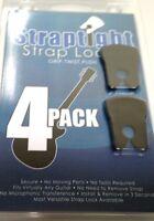 Straptight Strap Lock System  Set of 4  Easy Install  Black