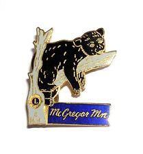 PIN/HATPIN Vintage Cloisonne McGregor, Minnesota Club LIONS CLUB MEMORABILIA