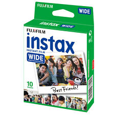 1 Pack 10 Instant Photos Fuji FujiFilm Instax Wide Film Polaroid Camera 210 300