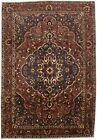 Vintage Floral Traditional 7X10 Handmade Antique Oriental Rug Home Decor Carpet