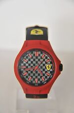 Scuderia Ferrari Men's Pit Crew Black Dial Black Strap Watch.  ~ AA-471
