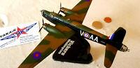 Vickers Wellington Wimpy RAF / UK  Atlas / ALTAYA Diecast 1:144 Bomber YAKAiR