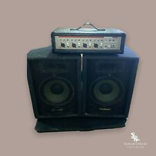 Phonic POWERPOD 410 with 4-Channel Powered Mixer & A Pair Of Phonic S710 Speaker