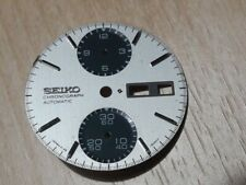 SEIKO CHRONOGRAPH 6138-8020 PANDA DIAL FOR PARTS              #7213