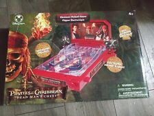Pirates of the caribbean Electronic Pinball Game. In working condition.
