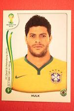 Panini BRASIL 2014 N. 49 HULK BRAZIL WITH BLACK BACK TOPMINT!!