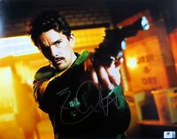 Ethan Hawke Signed Autographed 11X14 Photo Predestination Holding Gun GV793719