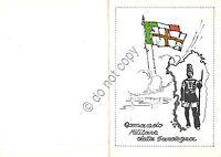 Cartolina - Postcard - Comando Militare della Sardegna Cartoncino doppio