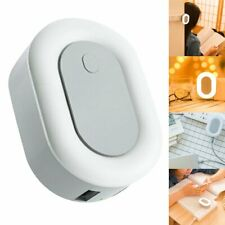 2-USB Quick Charger Phone Wall Charger Adapter & LED Night Light Lamp