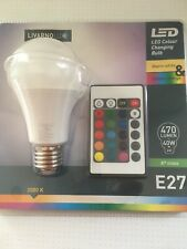 Led 16 Colour Remote Control Bulb